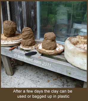 fire clay without a kiln