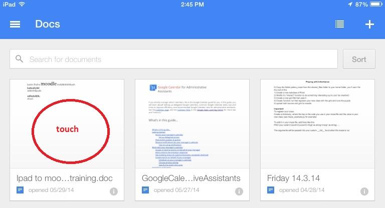 iOS Google Drive tutorials - Powered by Kayako Help Desk Software