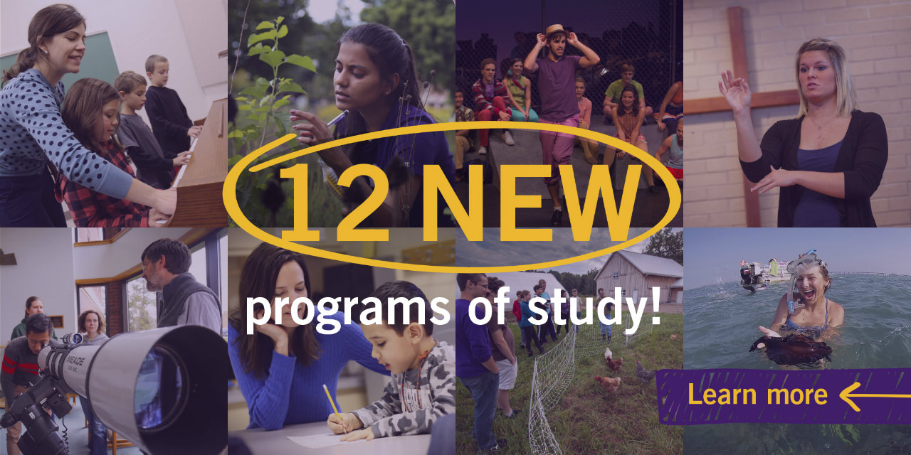 Announcing 12 new programs of study at Goshen College!