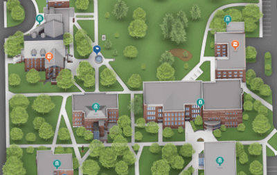 Goshen College campus map