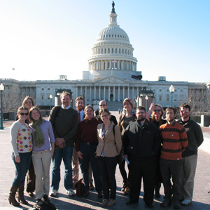 Masters of Environmental Education field study in Washington, DC