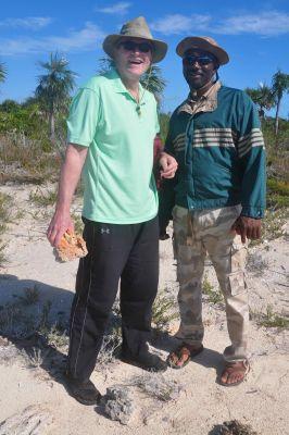 DaveO and Bahama Park Warden