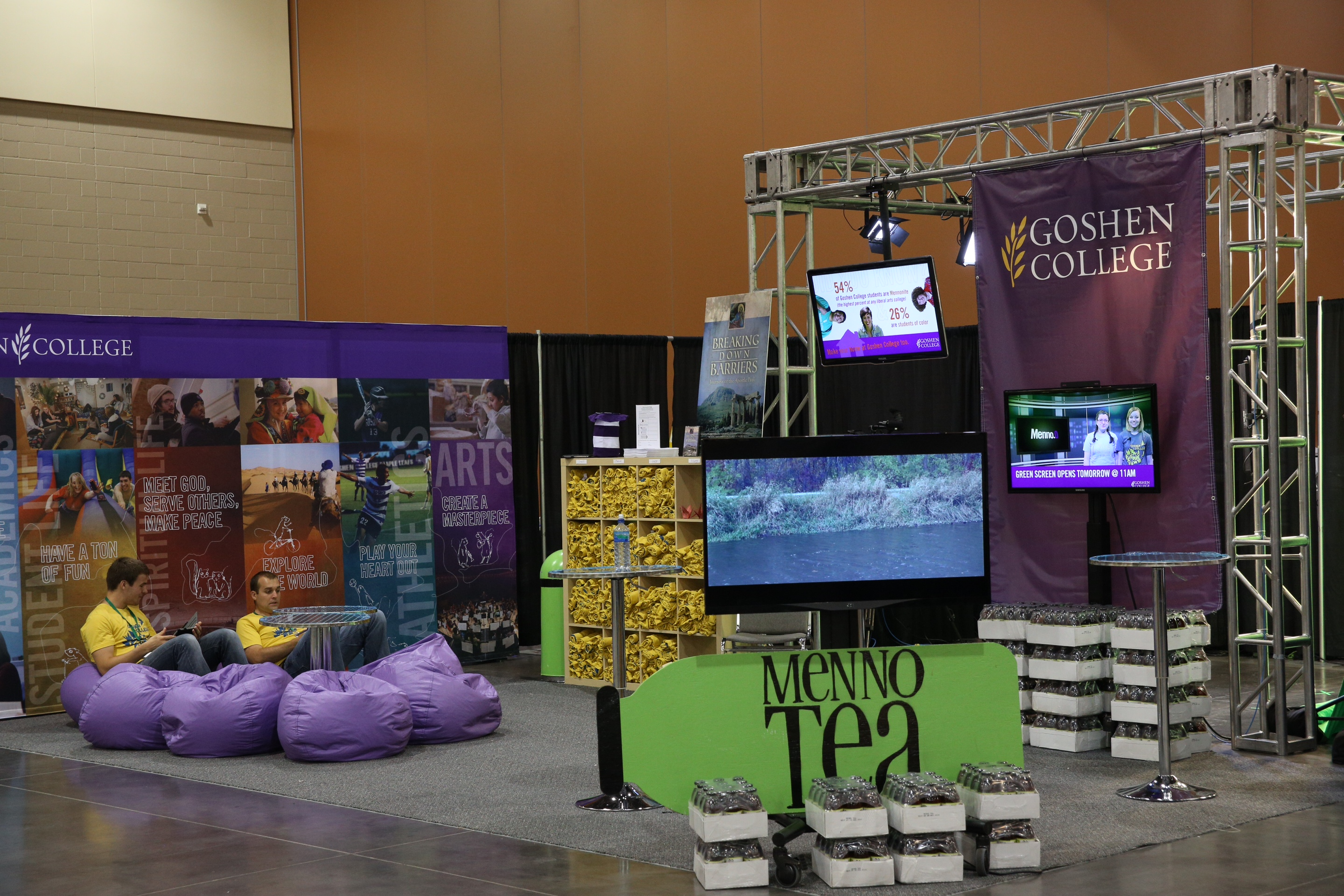 Gc Booth At Mennonite Church Usa Convention In Phoenix Goshen College
