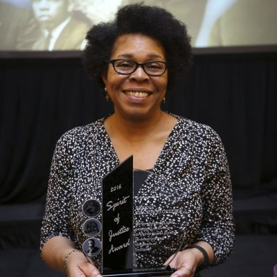 Regina Shands Stoltzfus – Indiana Spirit of Justice Award winner