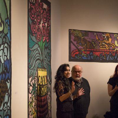 Beatriz Vasquez: papel picado exhibit
