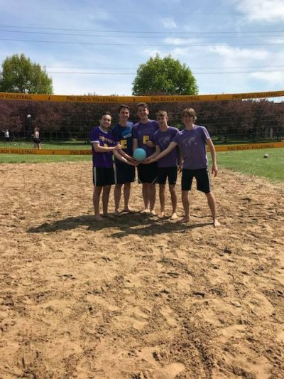 May term picnic and volleyball