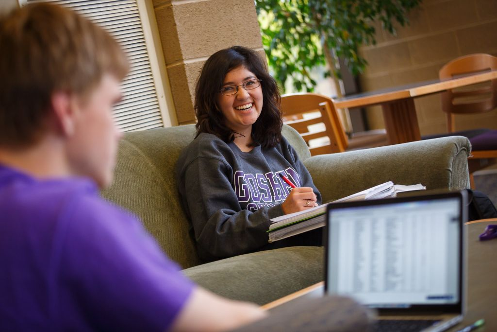 Goshen College students connect with each other and the world through interdisciplinary learning