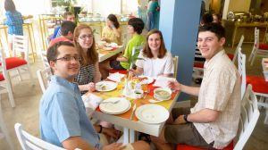 Breakfast at the Frangipani