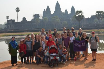 The 2016 group at Angkor Wat.