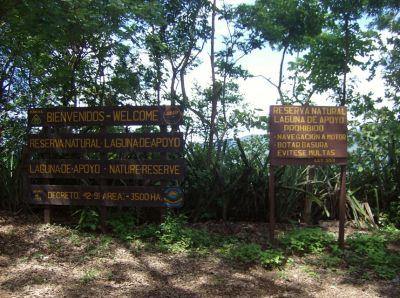 Trip to the Laguna de Apoyo