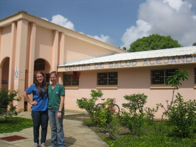 Service visit to La Concha – Kat and Breanna