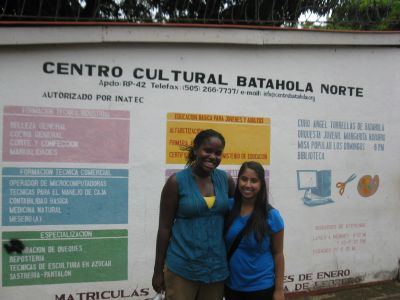 Batahola Norte Service Visit – Anna and Rachel