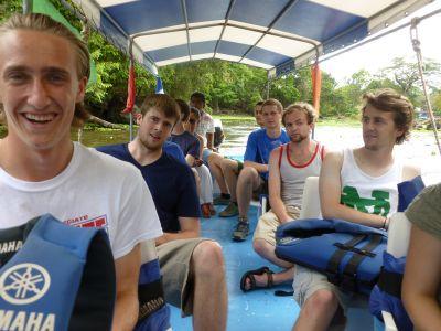 Exploring the isletas on Lake Nicaragua