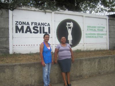 Two of the founding members and co-owners of this fair trade organic maquila