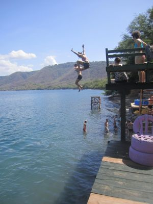 Hello, Laguna de Apoyo!