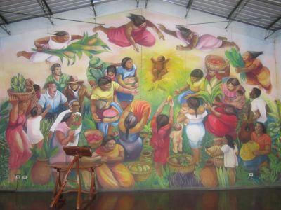 Mural at Batahola Norte