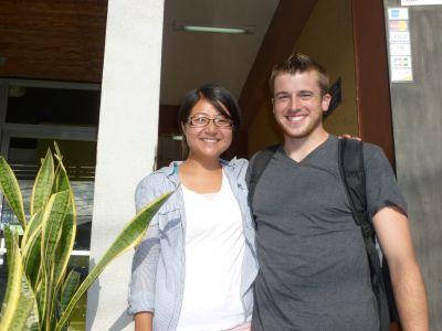 Drea and Jake in Matagalpa