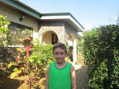 4-21-15 Josiah at Casa Goshen-Jinotepe