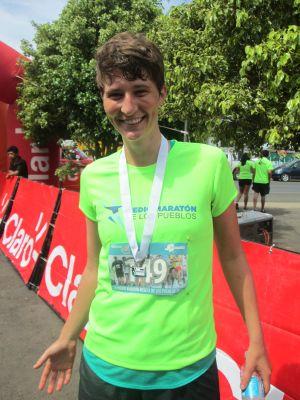 Natalie's first half-marathon!