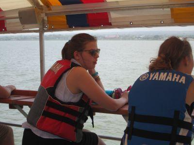 Emma on Lake Managua