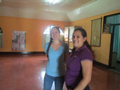 Emily with her Casa Materna supervisor