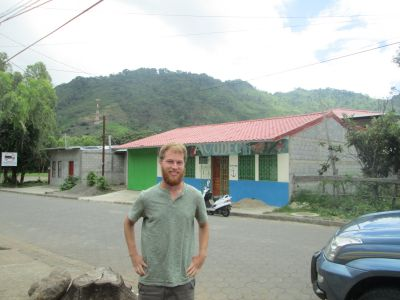 Ben is loving being in the mountains of Jinotega