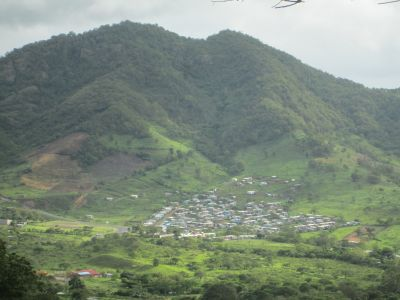 A stunning view of Jinotega from afar