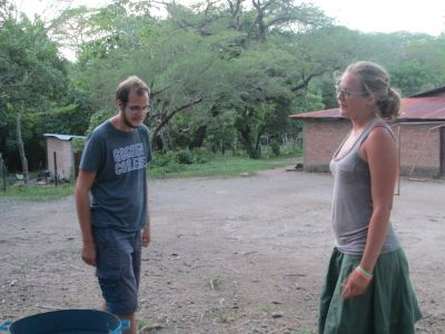 Wade and Erin share with us about their experiences while walking through the community.