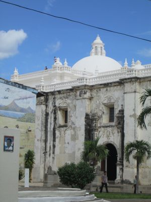 An example of some of the beautiful architecture in Leon that Natalie has been exploring.