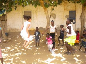 Wolof Class and other activities