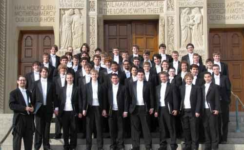 Goshen College Men's chorus tour 2010