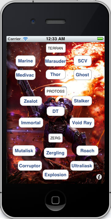 Terran, Protoss, Zerg