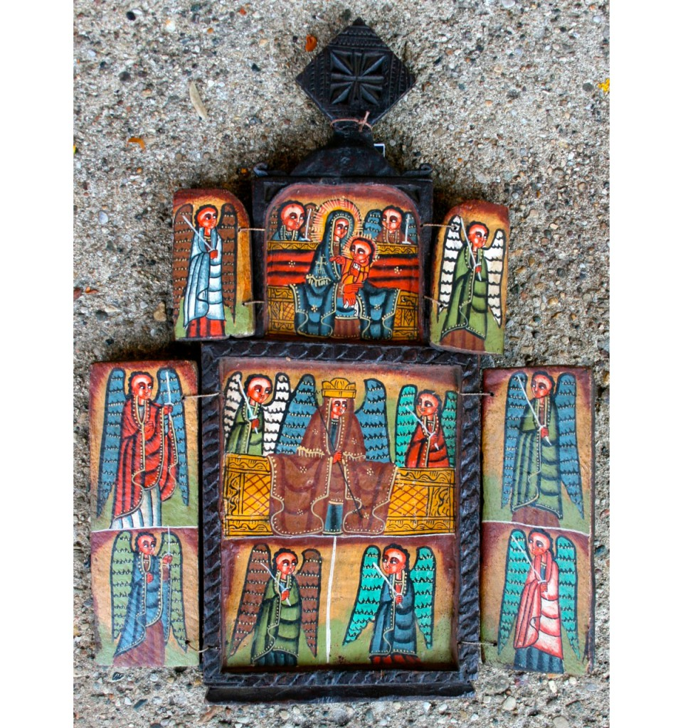 Ethiopian Orthodox Icon (open)