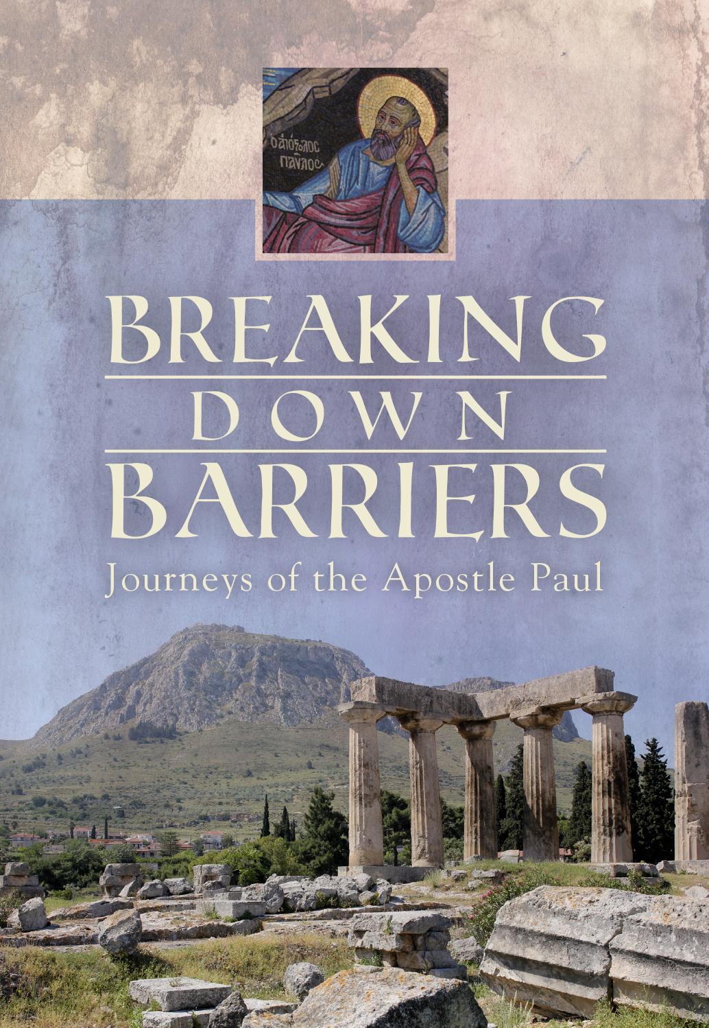 journeys of the apostle paul communication major amp minor