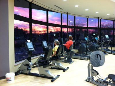 Greencroft sunset photo