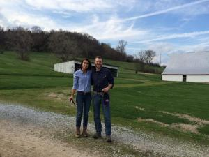 Nina and Jon - farm in Nashville March 2015_0