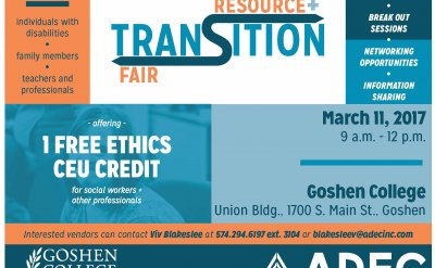 Resource + Transition Fair poster