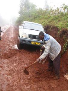Nyarero: David & Indy in banana country