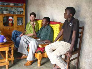 Josh – Farming in Kenyana