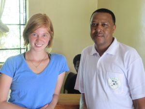 Twila and Mr. Lot Misinzo, IMARA Director