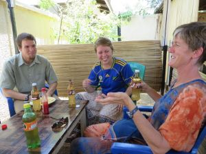 Accounting, teaching, & church work in Shirati