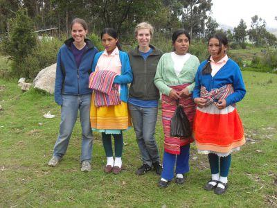 Serving in Huaraz