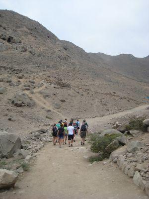 Climbing Quebrada verde