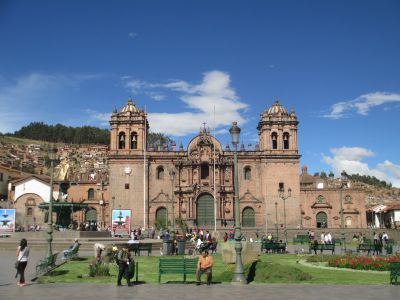 Service in Cusco — San Francisco of Assisi
