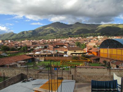 View from the top floor of Promesa School, to the east
