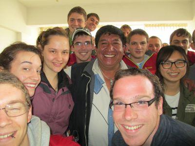 With Mr. Machicado