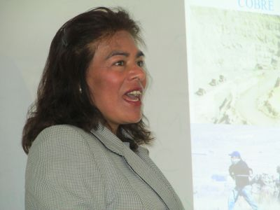 Catalina Jimenez is an agronomist at San Antonio de Abad Nacional University in Cusco