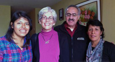Meeting Goshen's host families