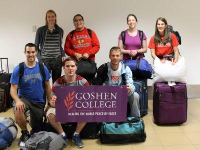 Goshen College students arrive safely in Peru