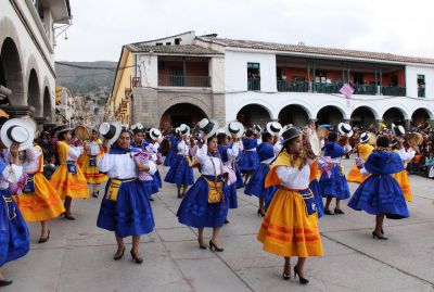 Carnival in Ayacucho: People, parades and powder